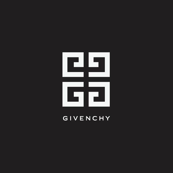 Wall Art - Digital Art - Givenchy - Black And White - Lifestyle And Fashion by TUSCAN Afternoon