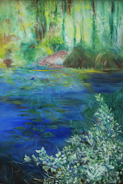 Painting - Giverney Impresssion by Kathy Knopp