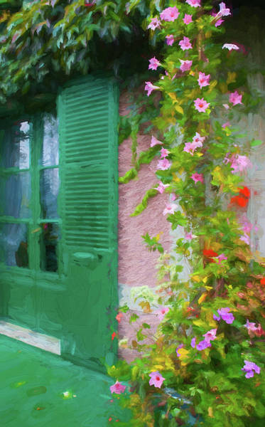 Claude Monet Photograph - Giverny 4 by CJ Middendorf
