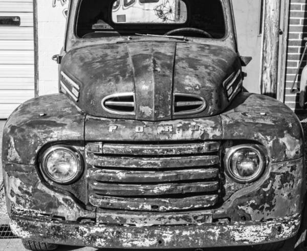 Photograph - Gives All Its Got Ford Truck by Roberta Byram