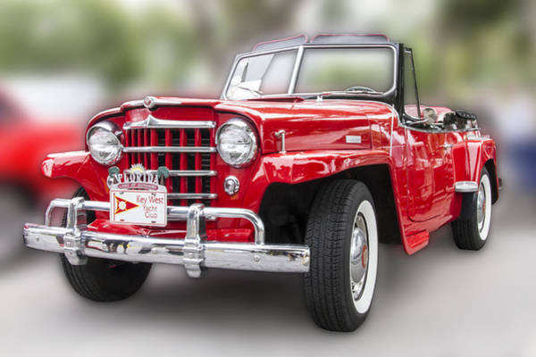 Photograph - Gives Me The Willys by Bob Slitzan