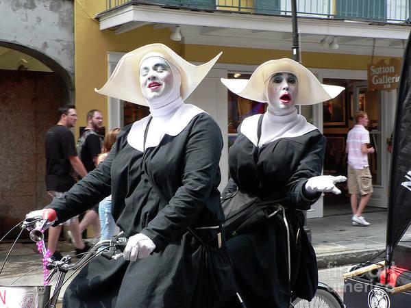 Nola Photograph - Givin Nun Gettin Nun by Joy Tudor