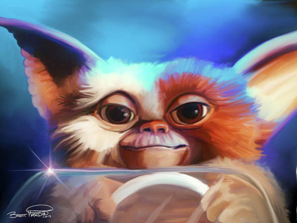 Painting - Gizmo by Brett Hardin