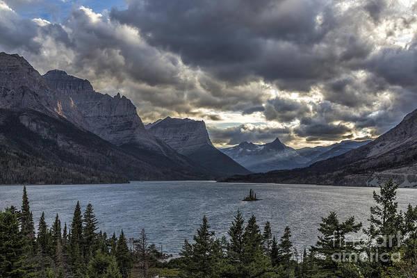 Photograph - Glacier - Wild Goose Island by Jemmy Archer