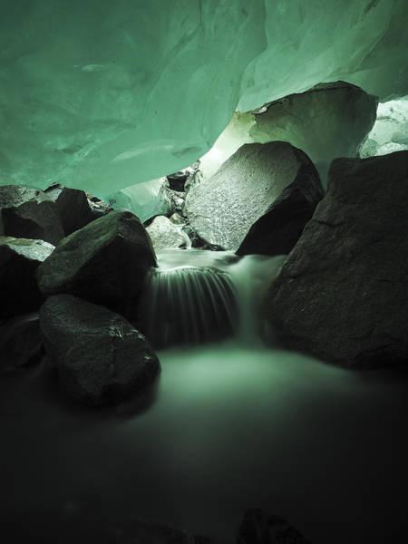 Photograph - Glacial Artery by Ian Johnson