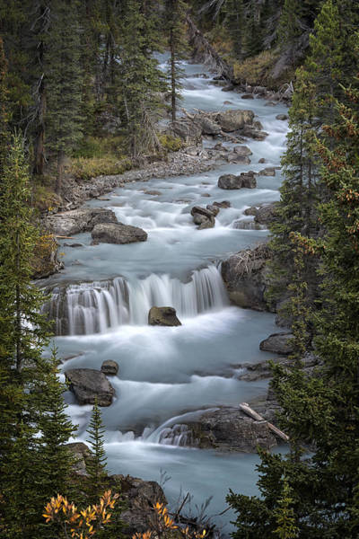 Alberta Wall Art - Photograph - Glacial Flow by Robert Fawcett