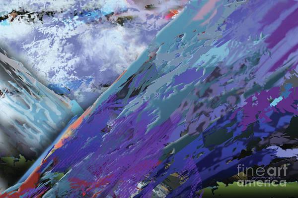 Digital Art - Glacial Vision by Jacqueline Shuler