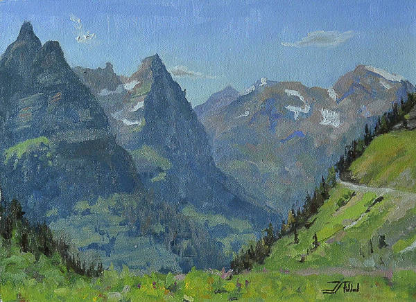 Painting - Glacier Afternoon by Jan Christiansen