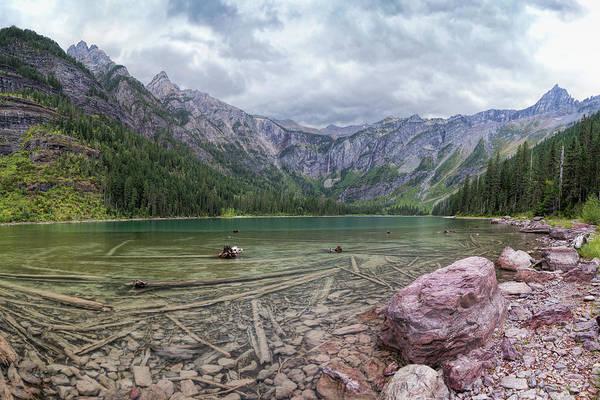 Photograph - Glacier - Avalanche Lake by Jemmy Archer
