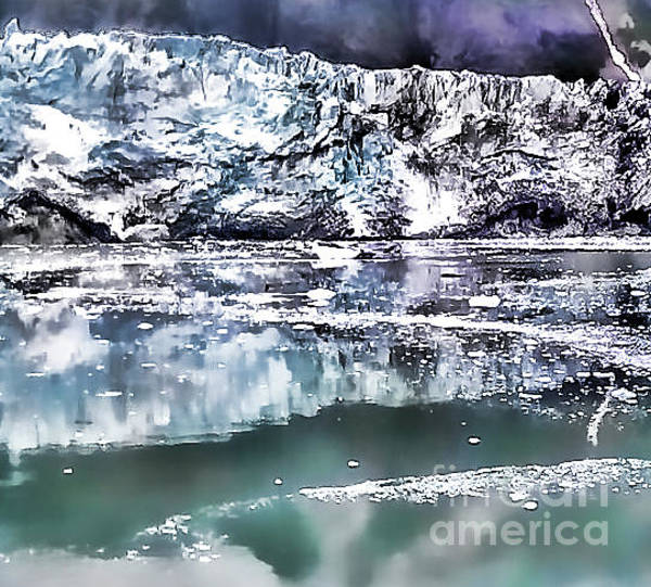 Shirleys Bay Photograph - Glacier Bay Iceberg by Shirley Mangini