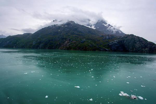 Photograph - Glacier Bay Mountain by Anthony Jones