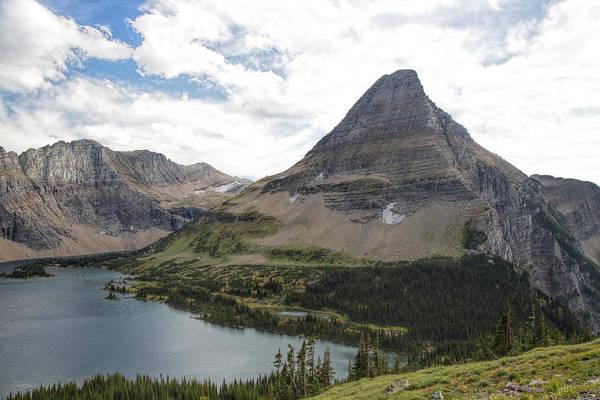 Photograph - Glacier - Bearhat Mountain by Jemmy Archer