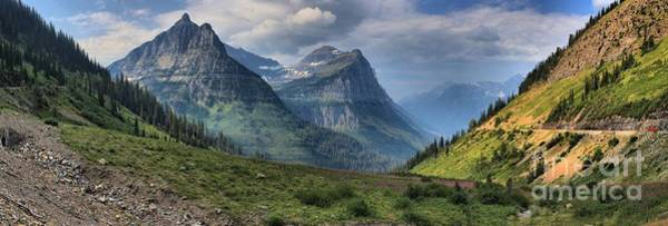 Photograph - Glacier Big Bend View Panorama by Adam Jewell