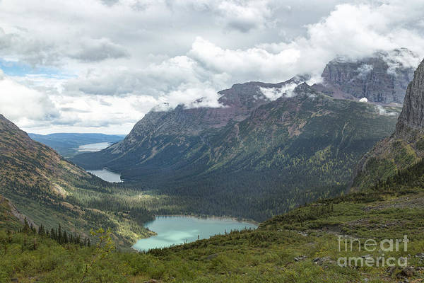 Photograph - Glacier - Grinnell Valley by Jemmy Archer