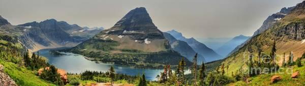 Wall Art - Photograph - Glacier Hidden Lake Panorama by Adam Jewell