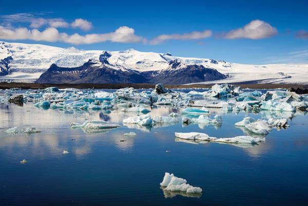 Photograph - Glacier Lagoon In Iceland by Matthias Hauser