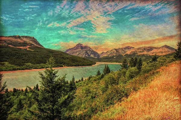 Digital Art - Glacier Nat. Park by Rusty R Smith