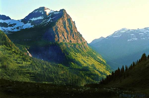 Glacier National Park 2 Art Print