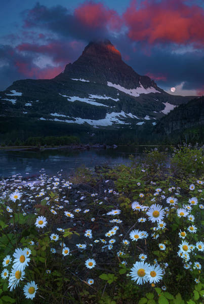 Wall Art - Photograph - Glacier National Park At Dawn by William Freebilly photography