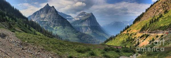 Photograph - Glacier National Park Big Bend by Adam Jewell