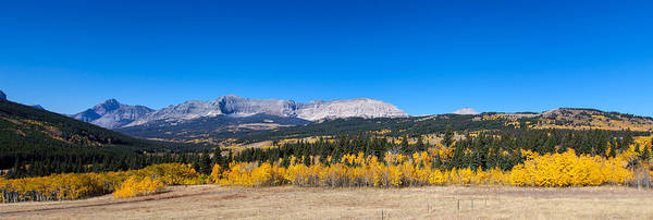 Photograph - Glacier National Park Panorama by Fran Riley
