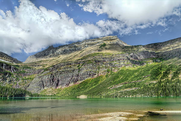 Photograph - Glacier National Park Scenic Beauty by Kay Brewer