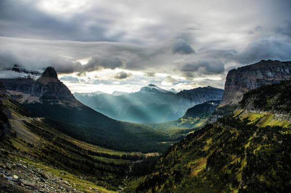 Photograph - Glacier National Park Sunrise 3 by Jedediah Hohf