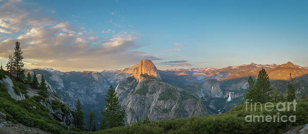 Photograph - Glacier Point Amphitheater Panorama  by Michael Ver Sprill