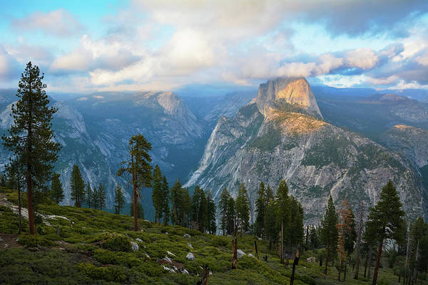 Photograph - Glacier Point Sunset Yosemite by Kyle Hanson
