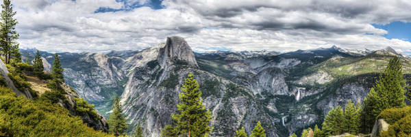 Photograph - Glacier Point by Walt Sterneman