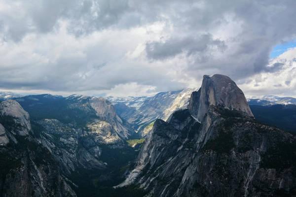 Photograph - Glacier Point Yosemite Landscape by Kyle Hanson