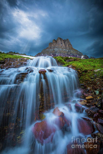 Montana State Photograph - Glacier Storm by Inge Johnsson