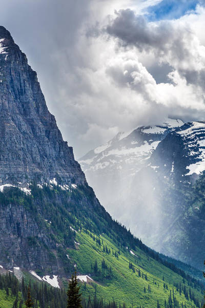 Montana Photograph - Glacier Storm by Robert Bynum