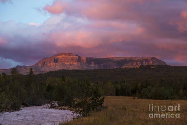 Photograph - Glacier - Sunrise At Many Glacier by Jemmy Archer