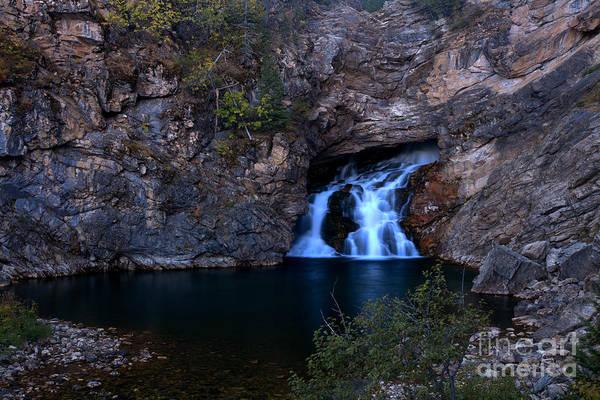 Photograph - Glacier Trick Falls by Adam Jewell