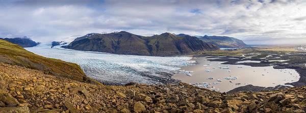 Photograph - Glacier View by James Billings