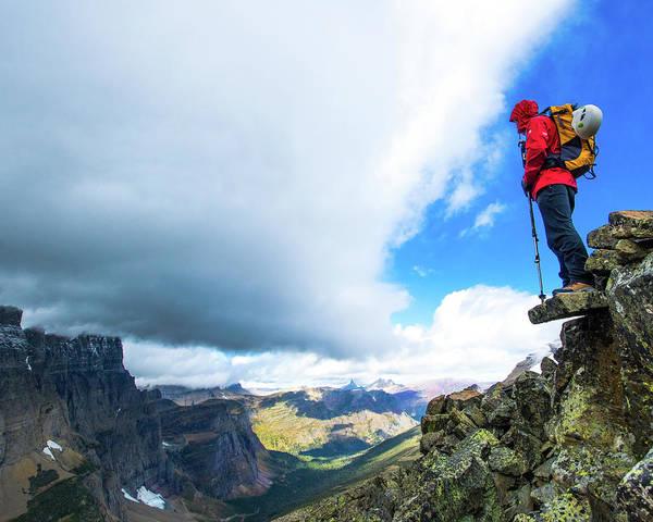 Photograph - Glacier Views by Jedediah Hohf