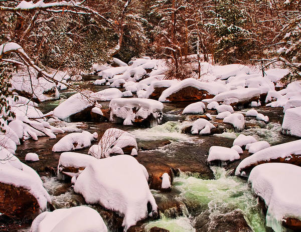 Photograph - Glade Creek  by Chris Flees