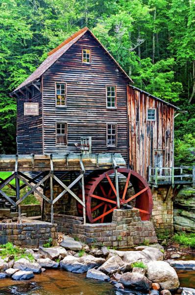 Wall Art - Photograph - Glade Creek Grist Mill 5 by Steve Harrington