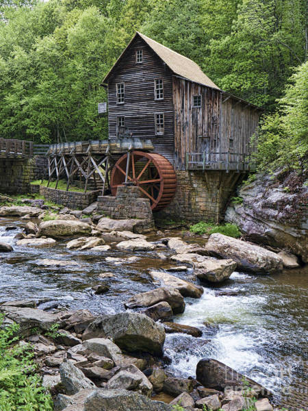 Photograph - Glade Creek Grist Mill by Brenda Kean