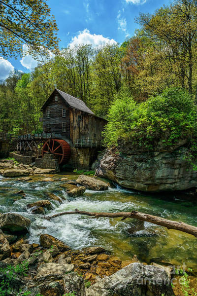 Photograph - Glade Creek Grist Mill Spring by Thomas R Fletcher