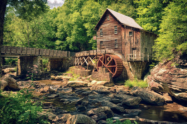Photograph - Glade Creek Grist Mill by Travis Rogers