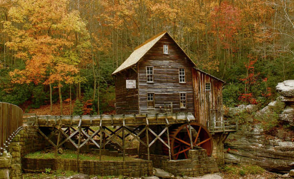 Photograph - Glade Grist Mill by Ola Allen