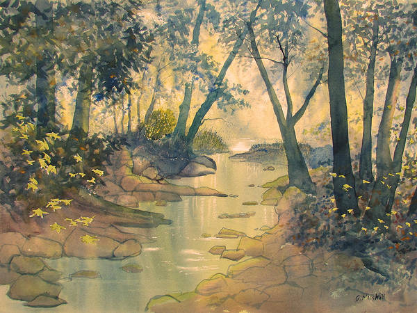 Painting - Glade O'green by Glenn Marshall