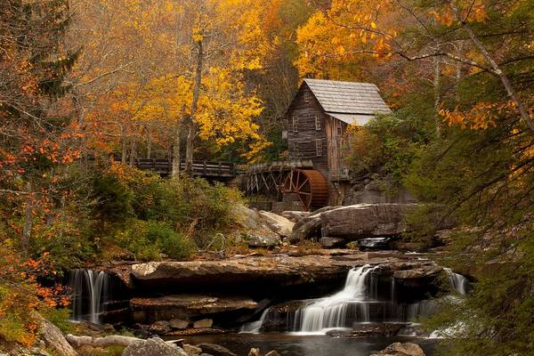 Grist Mill Photograph - Glades Creek Mill by Doug McPherson