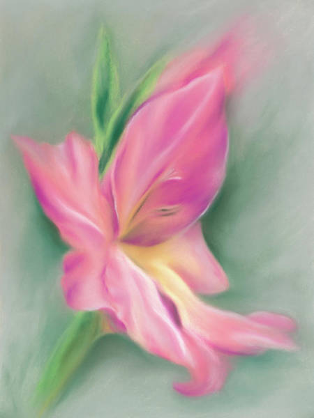 Pastel - Gladiolus Dreams Of Summertime by MM Anderson