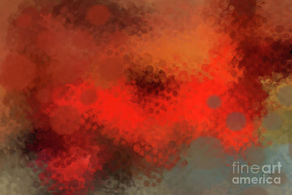 Wall Art - Photograph - Gladly Red Abstract by Anita Faye