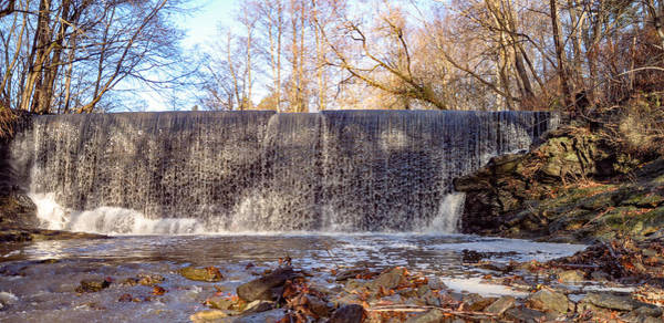 Wall Art - Photograph - Gladwyne - Dove Lake Waterfall Panorama by Bill Cannon