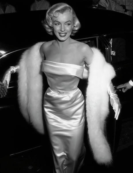 Wall Art - Photograph - Glamorous Marilyn 1954 by Daniel Hagerman