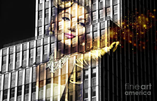 Photograph - Glamour On The 20th Floor by John Rizzuto